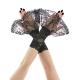 1778Edle Kurze Handstulpen - Armstulpen für Damen, aus stoff, Ergänzung zu einem Abendkleid im Bereich Gothic - Rock - festlich stilHandstulpen für Damen, Diese Armband ist ein Einzelstück, welches in liebevoller und sehr aufwändiger Handarbeit von mir gefertigt wurde, Die Pulswärmer sind angenehm weich und passen sich durch die Elastizität des stoffen gut an Hand und Handgelenkkurze handstulpen aus spitze hat rüschen für gothic braut, damen, schwarz 3100