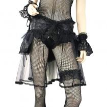Rock sexy kurz Pareo mit Spitze binden an der Taille für Gotik Braut 0190